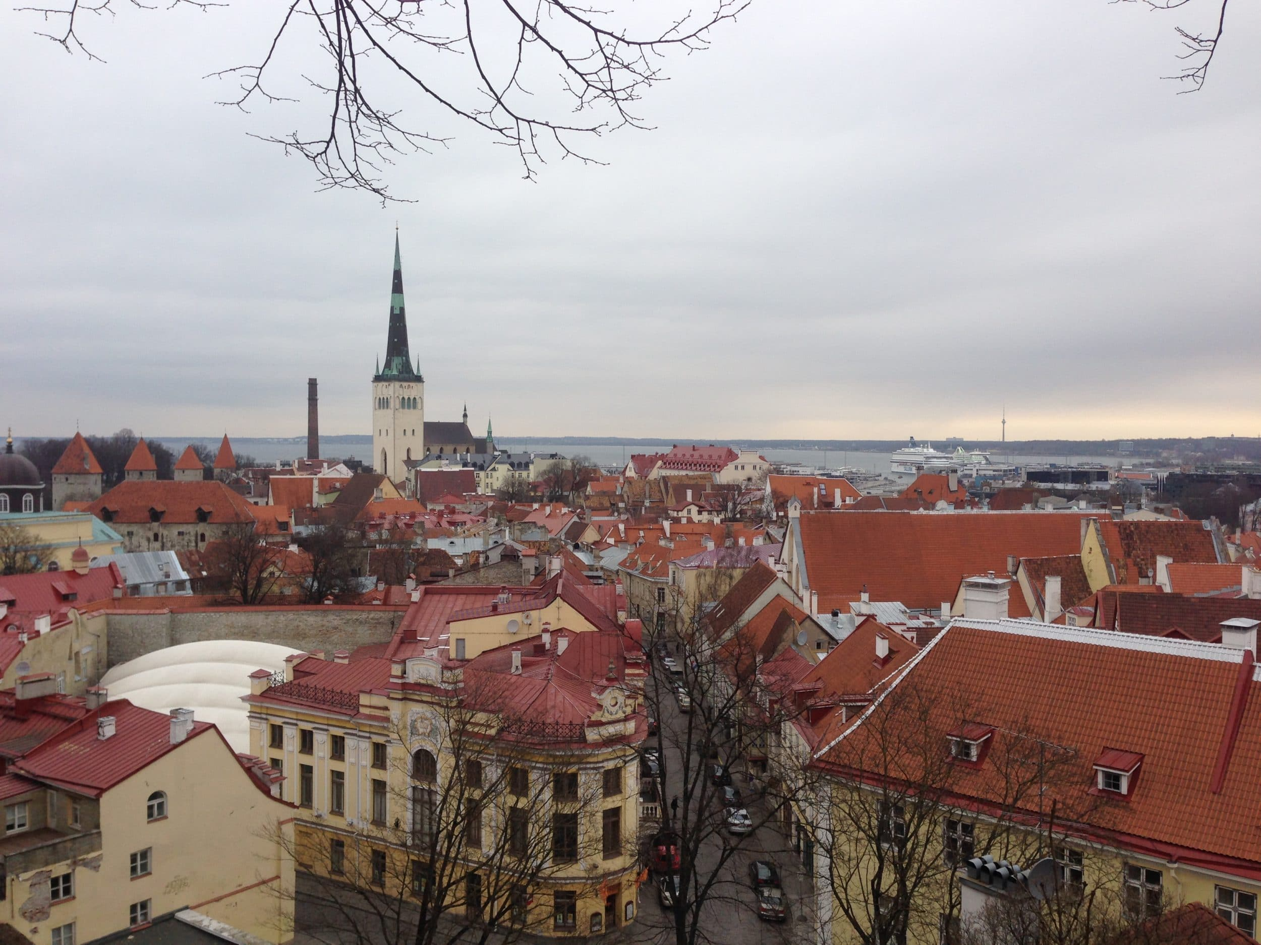 Upper Old Town Tallinn via Wayfaring With Wagner