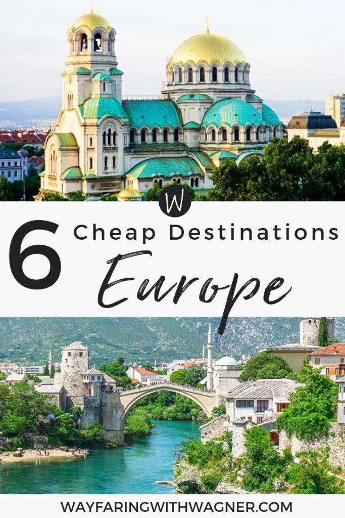 Trying to plan your next European vacation but not sure where you want to head on a European trip? Check out these cheap European destinations! They're all affordable destinations in Europe that offer great European culture and history!