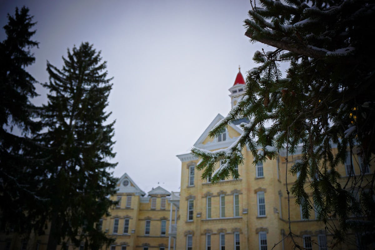 Traverse City State Hospital via Wayfaring With Wagner
