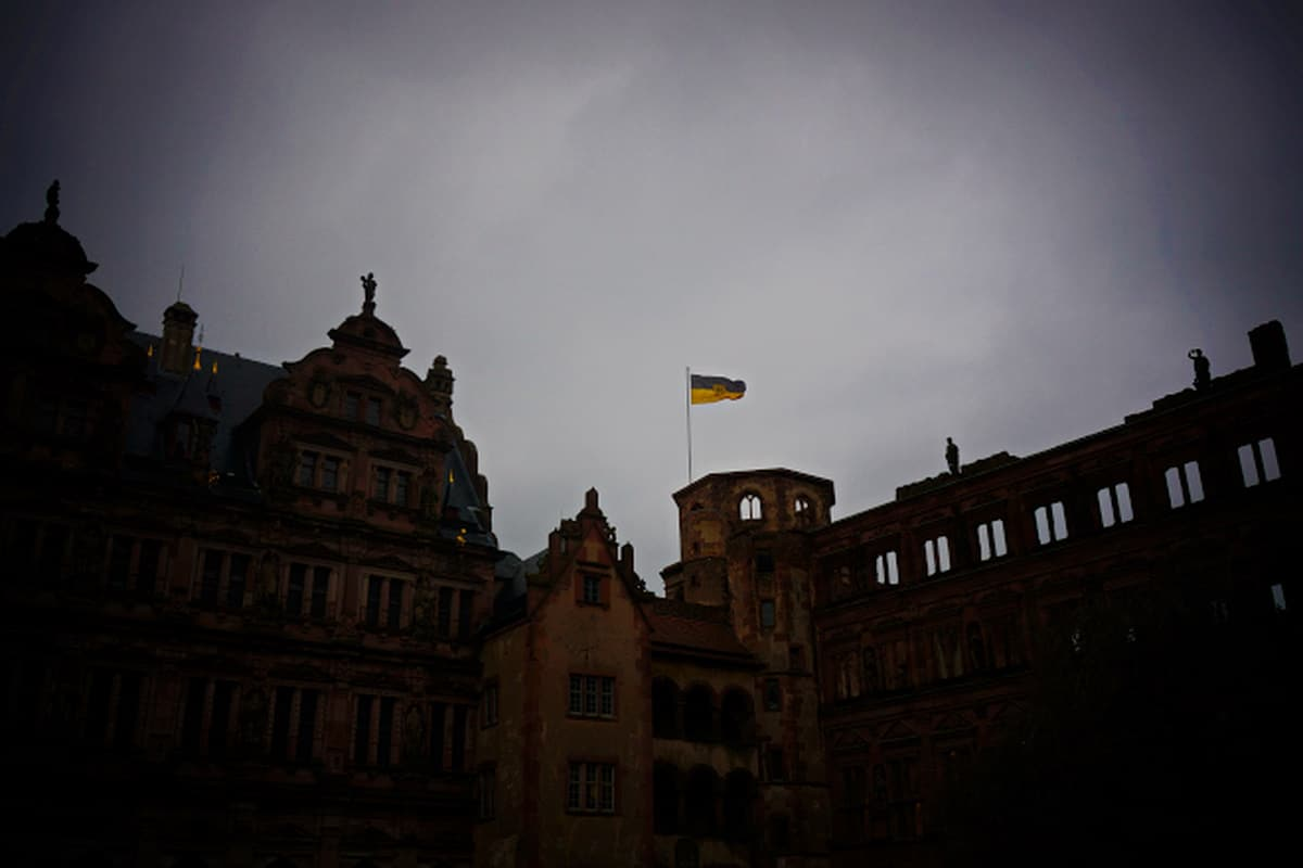 Schloss Heidelberg Dusk via Wayfaring With Wagner