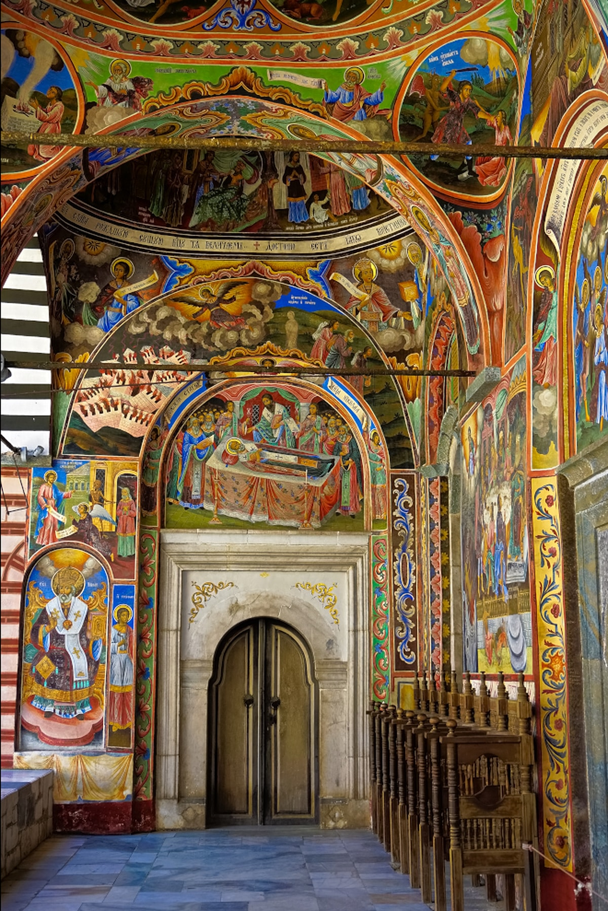 Rila Monastery via Wayfaring With Wagner