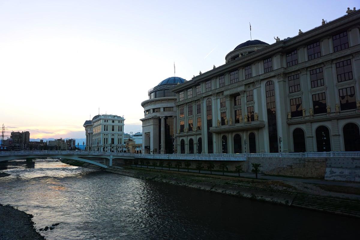 Skopje, Macedonia via Wayfaring With Wagner