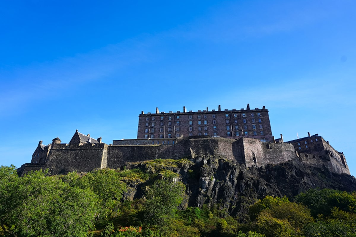 Edinburgh Castle via Wayfaring With Wagner