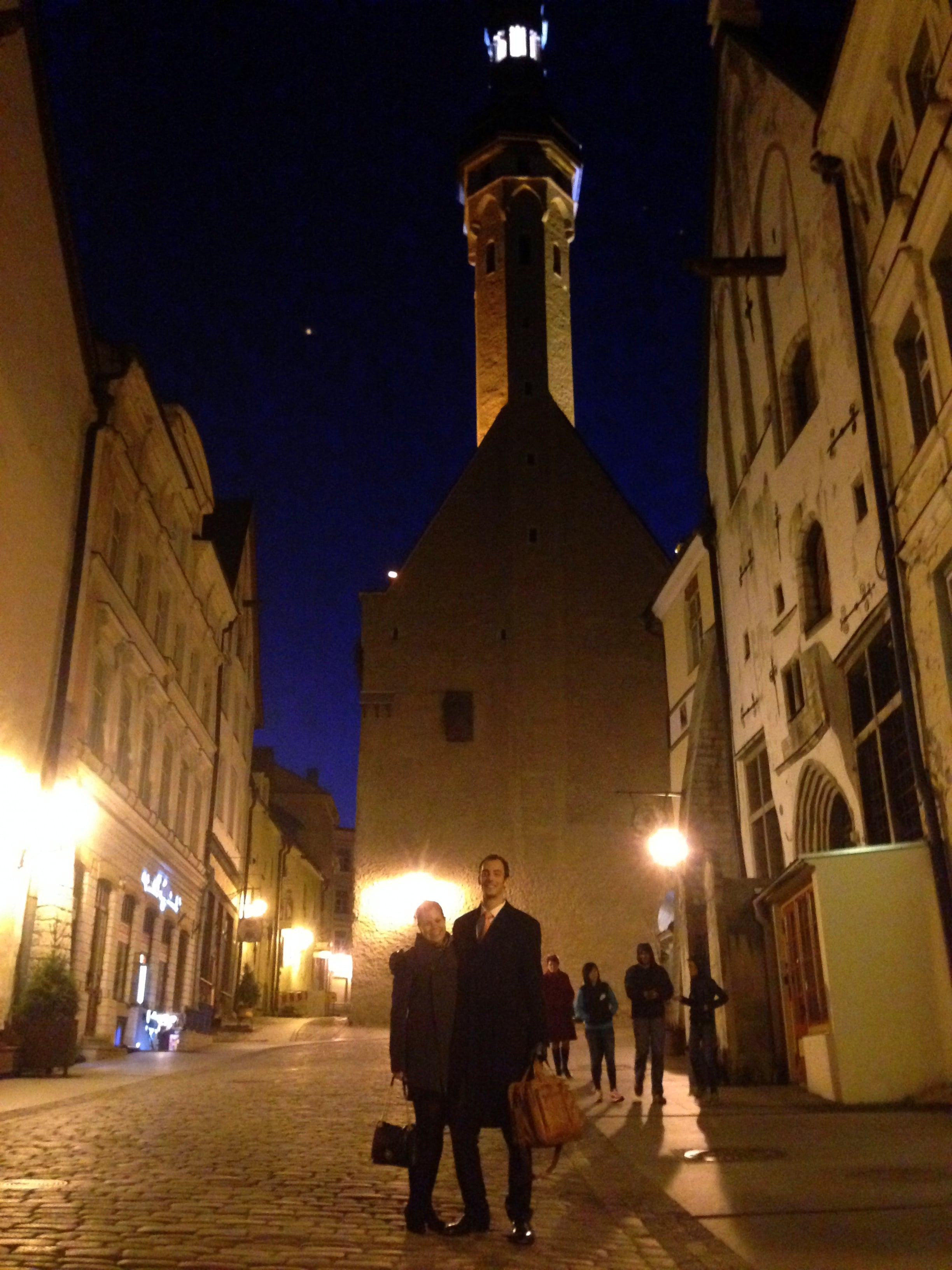 Lower Old Town Tallinn via Wayfaring With Wagner