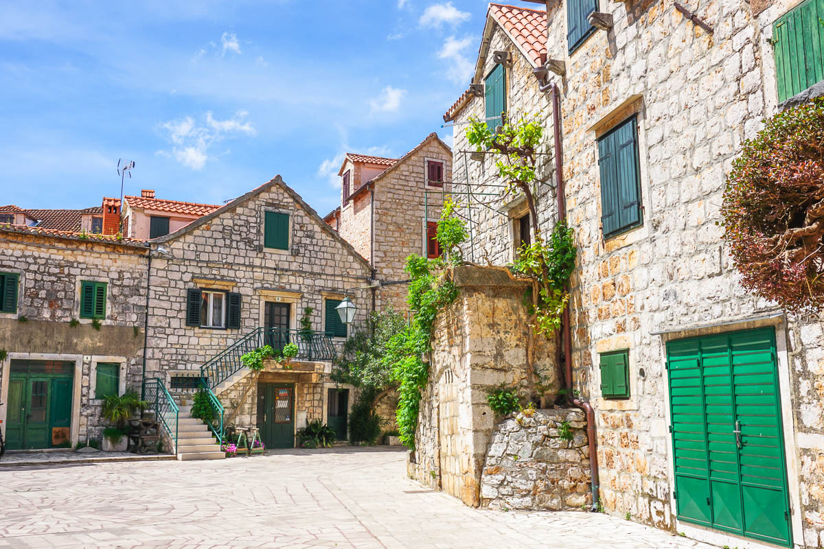 Heavenly Hvar Island via Wayfaring With Wagner