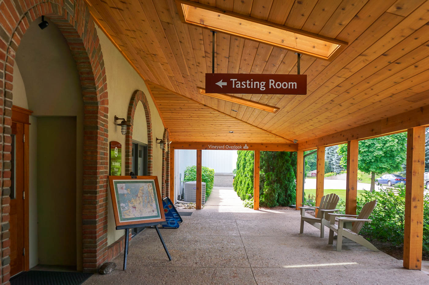 Wine Tasting on Old Mission Peninsula via Wayfaring With Wagner