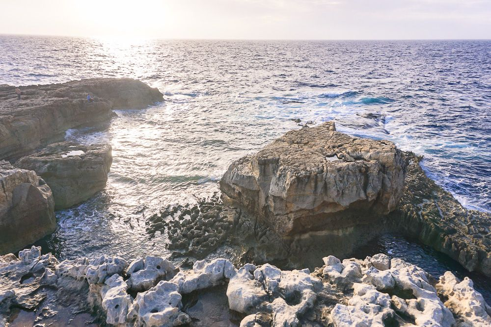 Azure Window in Malta via Wayfaring With Wagner
