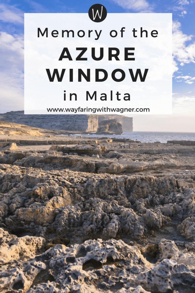 Only a lasting memory, pictures of the Azure Window in Malta before its collapse
