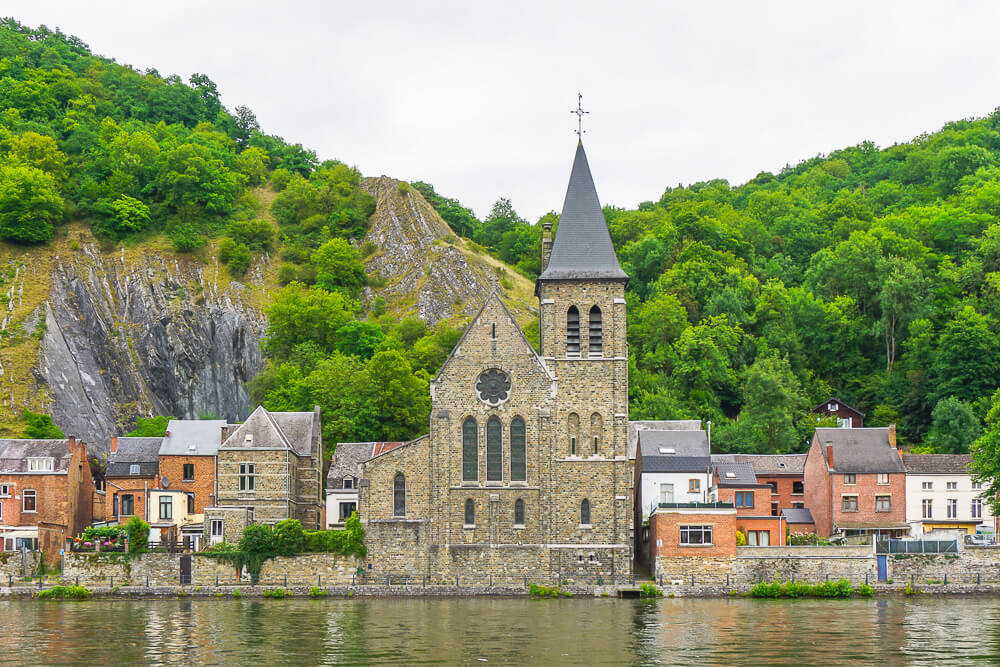 The Historical Town of Dinant via Wayfaring With Wagner