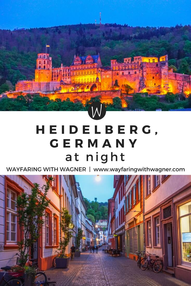 A photo diary of Heidelberg, Germany at night | Heidelberg Castle | Heidelberg Altstadt | Heidelberg Tipps | Things To Do Heidelberg, Germany | European Travel | Germany Travel | Wayfaring With Wagner