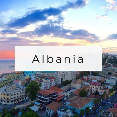Albania Travel Page via Wayfaring With Wagner