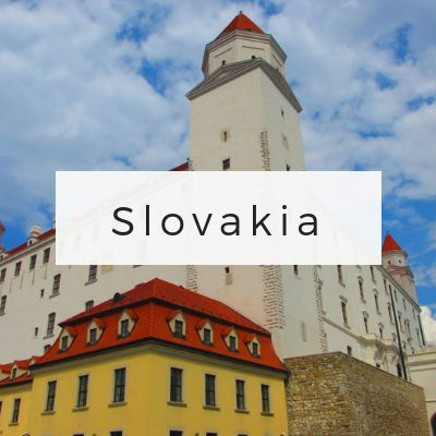 Slovakia Travel Page via Wayfaring With Wagner